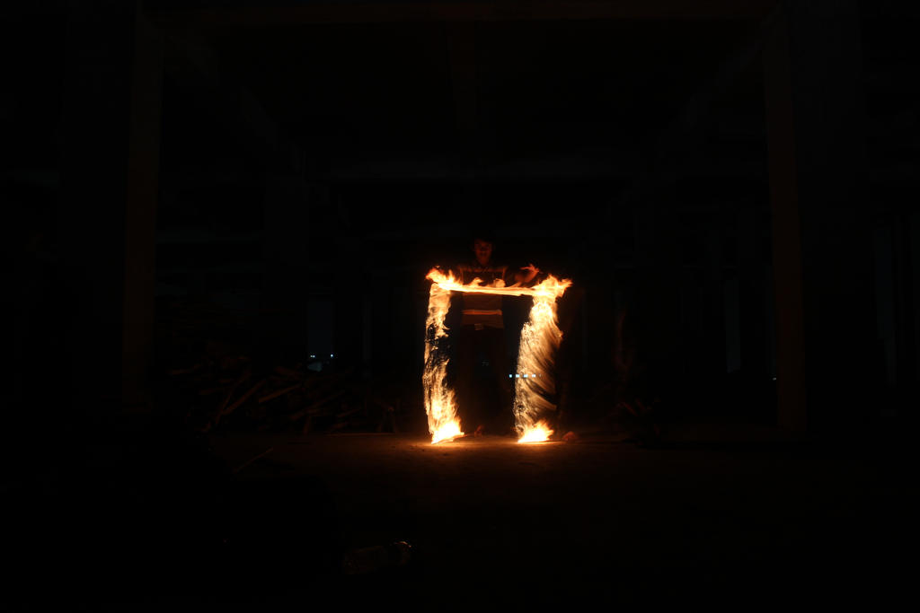 Fire Lightpaint Session @ SOtSK # 1 by personalstash