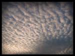 Sky looks like a sea