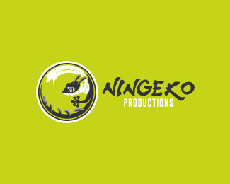 Ningeko-Productions-Logo by IrianWhitefox