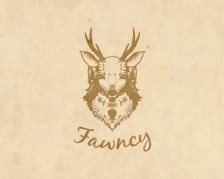 Fawncy-Logo by IrianWhitefox