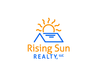 rising sun realty logo by irianwhitefox on deviantart rising sun log cabin rising sun log company