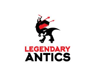 Legendary-Antics-Logo by IrianWhitefox