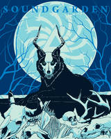 Soundgarden-King-Animal-Poster-Design by whitefoxdesigns