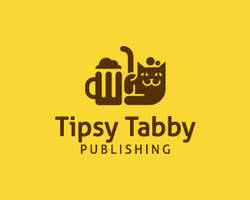 Tipsy-Tabby-Publishing-Logo by whitefoxdesigns