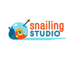 Snailing-Studio-Logo by whitefoxdesigns