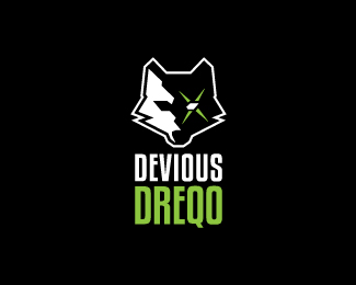 Devious-Dreqo-Logo by IrianWhitefox