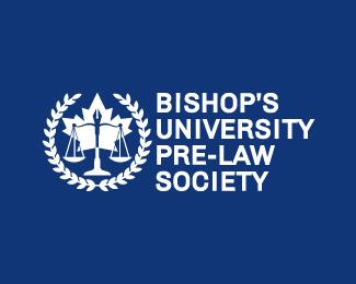 Bishop's-University-Pre-Law-Society-Logo by IrianWhitefox