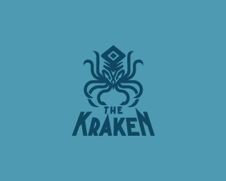 The-Kraken-Logo by IrianWhitefox