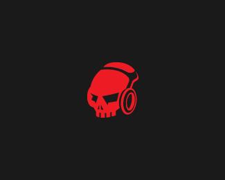 DJ-Skull-Logo by IrianWhitefox