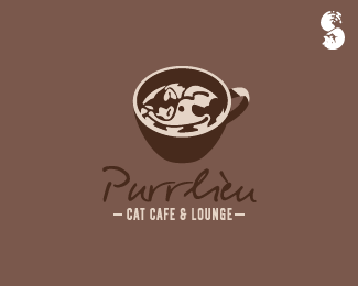Purrlieu-Cat-Cafe-and-Lounge-Logo by IrianWhitefox