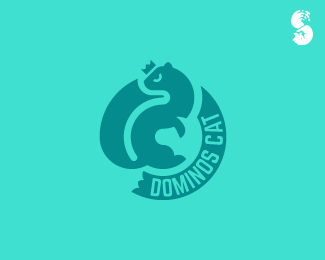 Dominos-Cat-Logo by IrianWhitefox