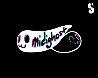 midighost-Logo by IrianWhitefox