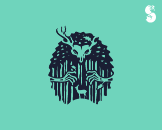 the forest logo by whitefoxdesigns on deviantart