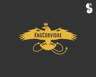 KngCorvidae-Logo by IrianWhitefox