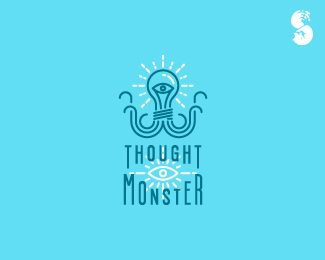Thought-Monster-Logo by IrianWhitefox