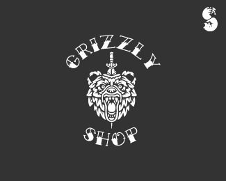Grizzly-Shop-Logo by IrianWhitefox