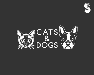 CATS-and-DOGS-Logo by IrianWhitefox