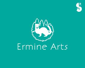 Ermine-Arts-Logo by IrianWhitefox