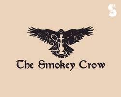 The-Smokey-Crow-Logo by whitefoxdesigns