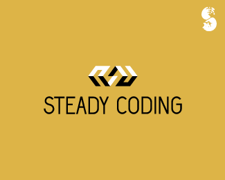 Steady-Coding-Logo by IrianWhitefox