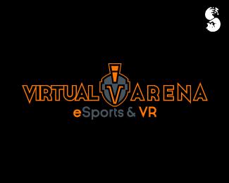 Virtual-Arena-Logo by IrianWhitefox