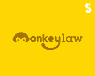 MonkeyLaw-1-Logo by IrianWhitefox
