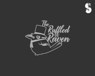 The-Ruffled-Raven-Logo by IrianWhitefox