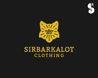 SIRBARKALOT-Clothing-Logo by IrianWhitefox
