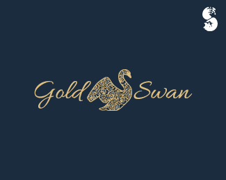 Gold-Swan-Logo by IrianWhitefox