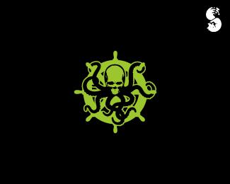 Death-Octopus-Logo by IrianWhitefox