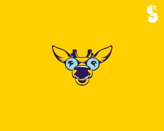 Glasses-Deer-Logo by IrianWhitefox