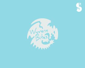 Wyvern-Bites-Logo by IrianWhitefox