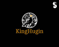 KingHugin-Logo by whitefoxdesigns