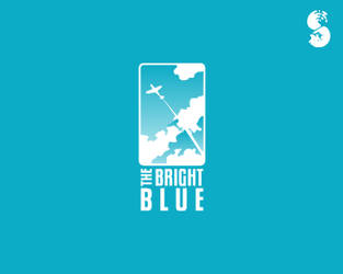 The-Bright-Blue-Logo by whitefoxdesigns