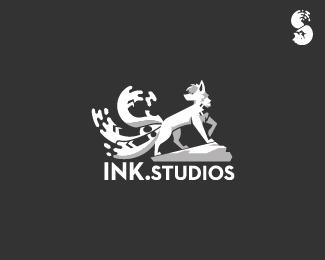 INK.STUDIOS-Logo by IrianWhitefox