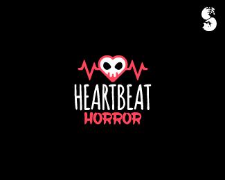 Heartbeat-Horror-Logo by IrianWhitefox