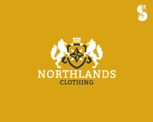 NORTHLANDS-Clothing-Logo by whitefoxdesigns