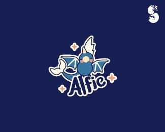 Alfie-Logo by IrianWhitefox