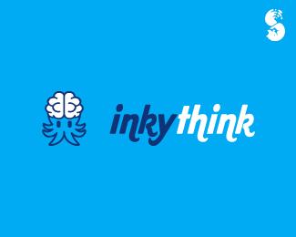 inkythink-Logo by IrianWhitefox