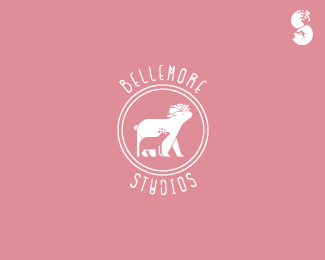 Bellemore-Studios-Logo by whitefoxdesigns