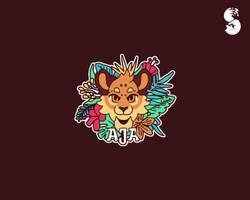 Aja-Logo by whitefoxdesigns