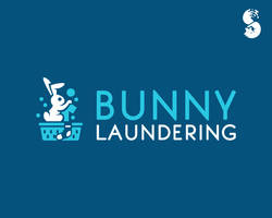 Bunny-Laundering-Logo by whitefoxdesigns