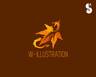 W-ILLUSTRATION-Logo by whitefoxdesigns