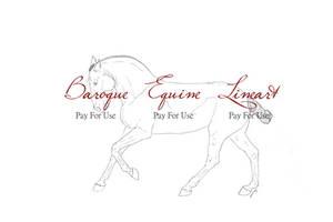 P4U Baroque Equine Lineart