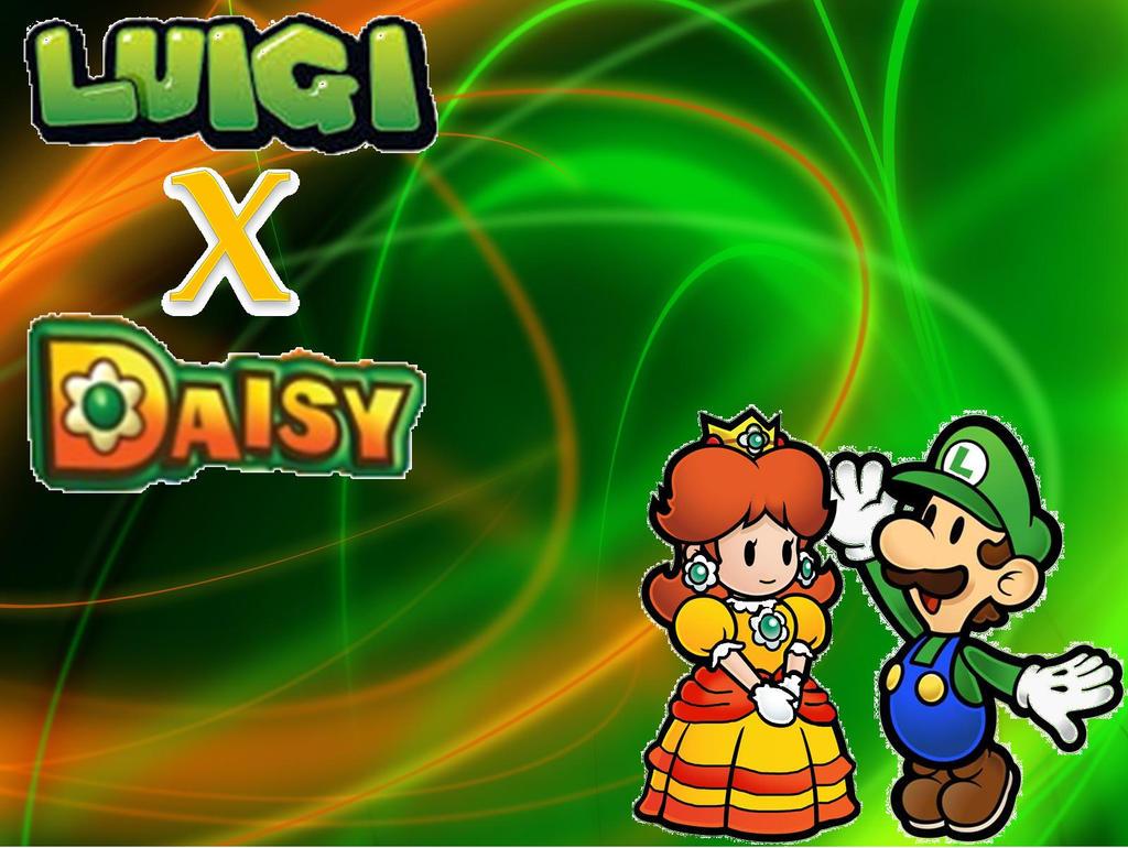 Luigi And Daisy Wedding Cake Topper