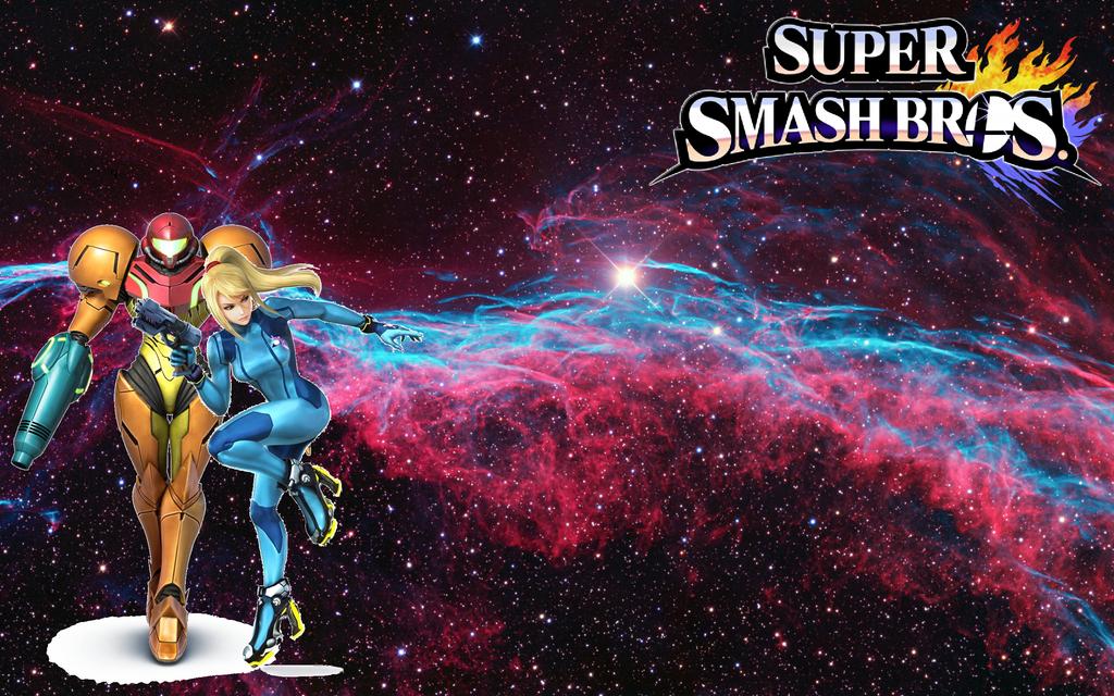 Super Smash Bros Wii U 3DS Wallpapers Samus Aran By Mariorandom57