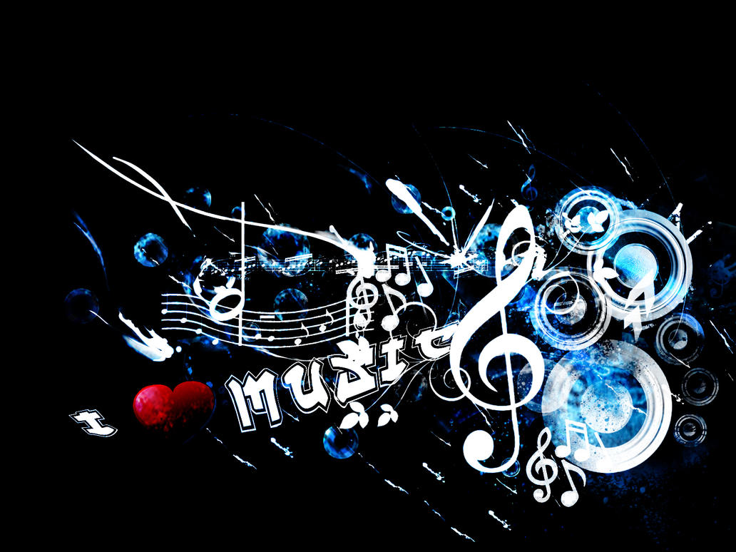 I love music wallpaper by DjDuzky on DeviantArt