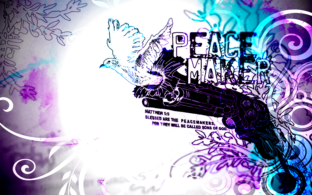 wallpaper peace maker by - photo #8