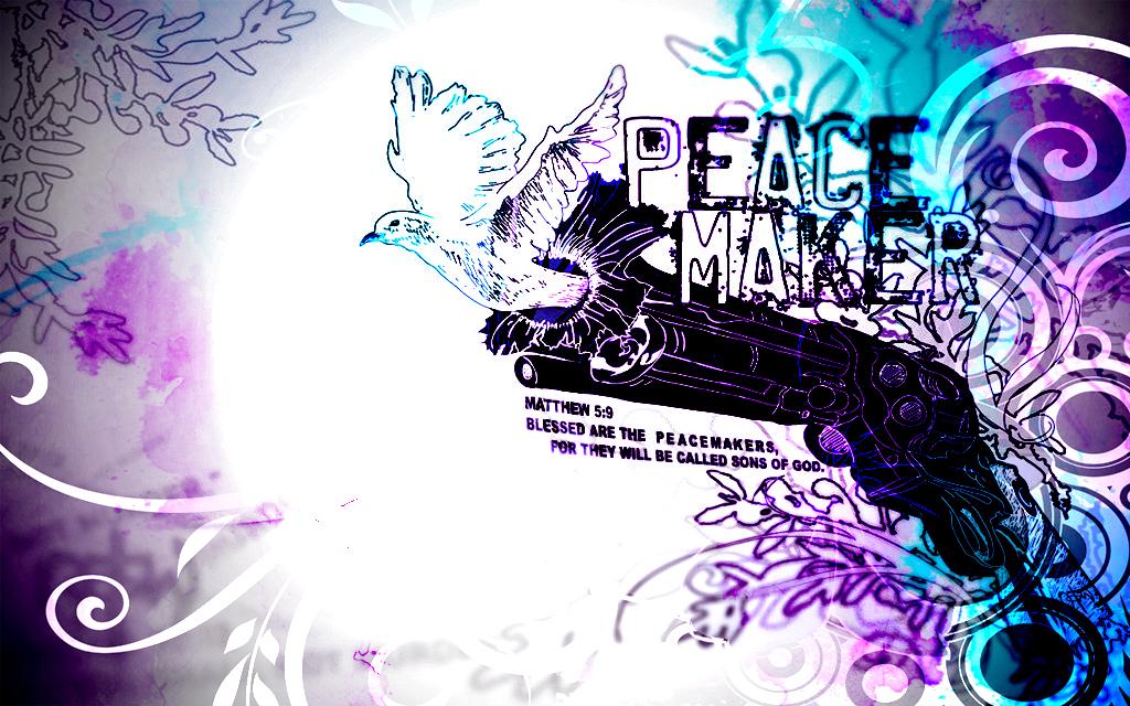 Peace Maker Wallpaper By DjDuzky