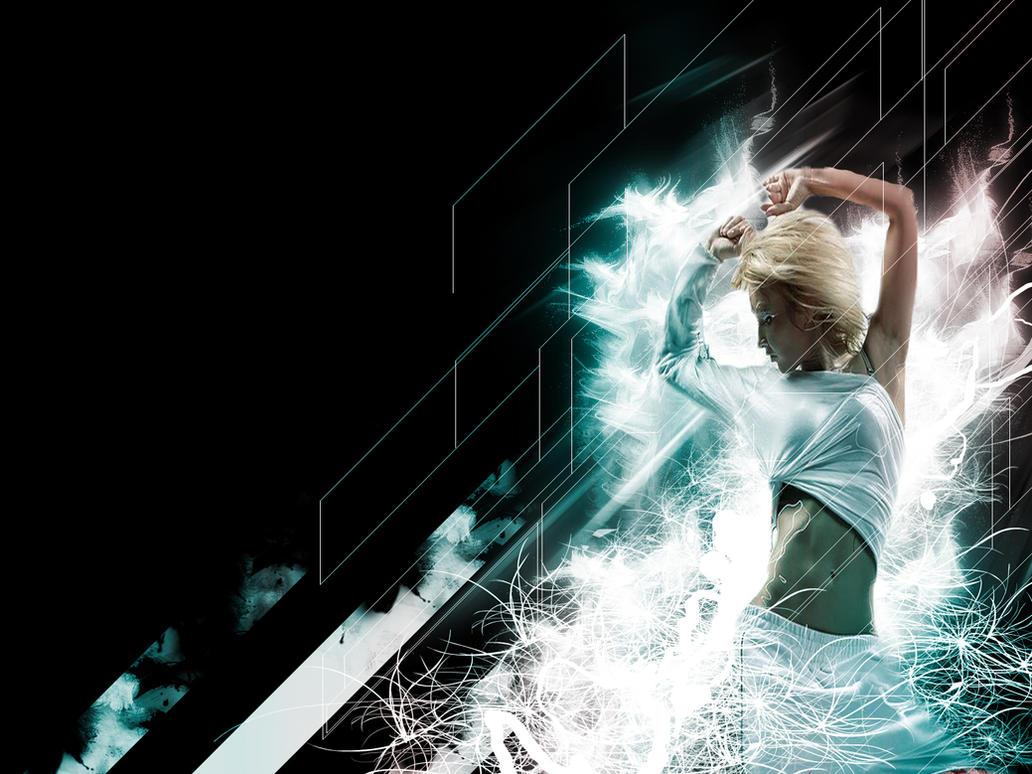 dance girl wallpaperdjduzky on deviantart